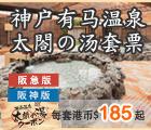 有马温泉, 日本温泉套票, arima, onsen